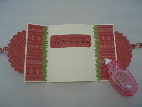 Snowman Gate Card 009