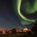 Aurora Borealis, Hvalsnes, Iceland by fredschalk