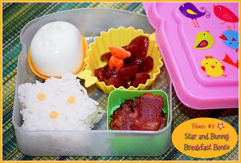 bento 3 1 star bunny breakfast bento flickr photo sharing. Black Bedroom Furniture Sets. Home Design Ideas