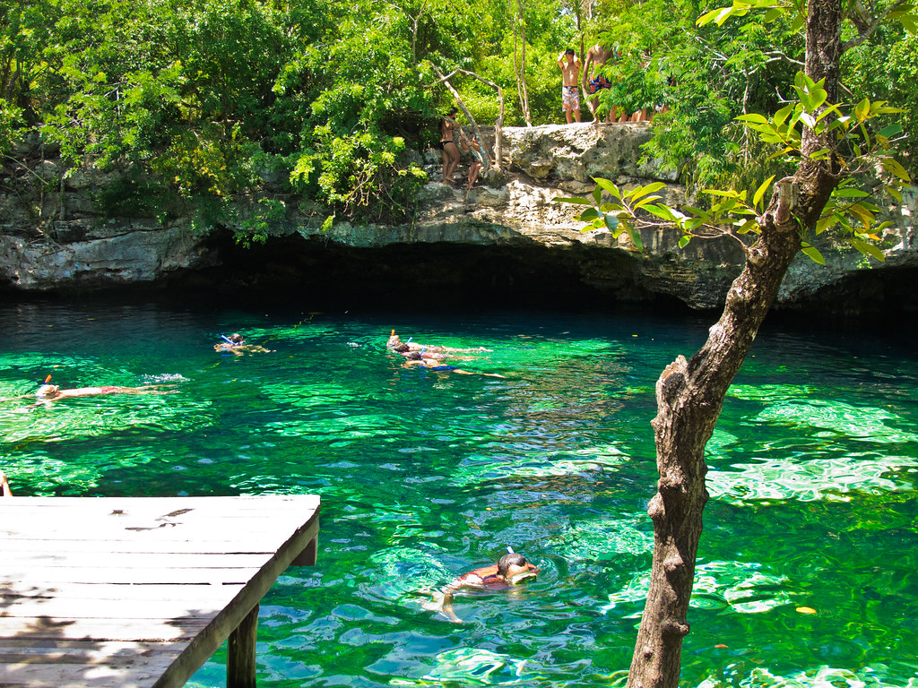 Yucatan Peninsula Cenotes: Snorkel Trip in a Cenote