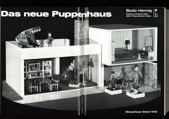 1969 bodo hennig puppenhaus aus das spielzeug das inte flickr photo sharing. Black Bedroom Furniture Sets. Home Design Ideas