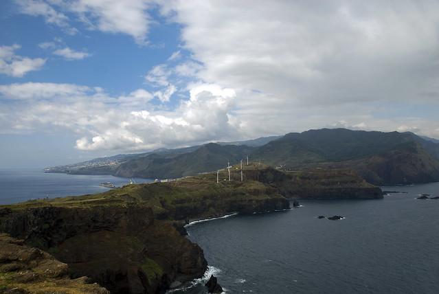 Madeira landsacape Ponta de Sao Lourence