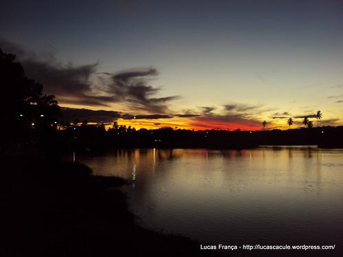 Lagoa Manoel Caculé – Anoitecer