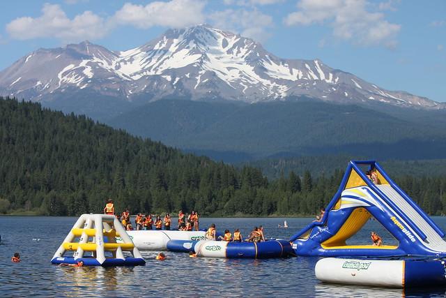 Lake siskiyou swimming flickr photo sharing for Lake siskiyou resort cabins