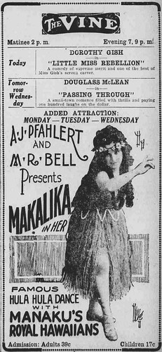 Ad: Hula Show by UH Manoa Library