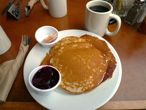 coffee and pancake