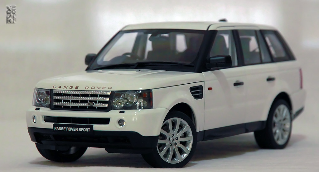 land rover range rover sport white dx trucks suv haulers diecast. Black Bedroom Furniture Sets. Home Design Ideas