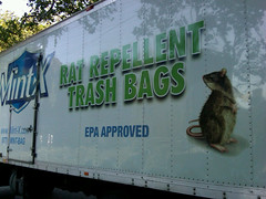 The Truck of Mint-X Trash Bags