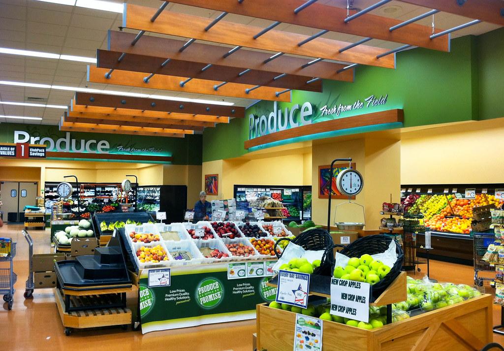 Interior Grocery Store Design   Supermarket Decor Design ...