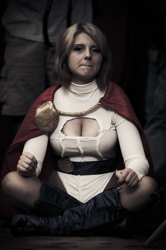 Baltimore Comic Con 2011 - Power Girl