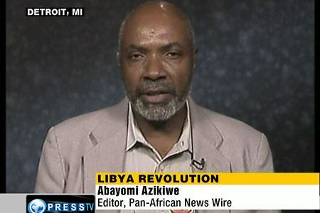 Abayomi Azikiwe, editor of the Pan-African News Wire, was interviewed on Press TV News Analysis program on Aug. 23, 2011. Azikiwe emphasized the central role of the US and NATO in the war against the North African state of Libya. by Pan-African News Wire File Photos