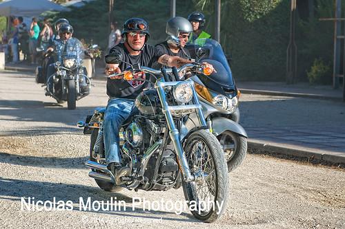 Harley Davidson Concentración