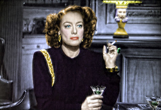 Have a Martini and a Cigarette with Movie Star Joan Crawford