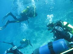diving @ limanakia, Attica