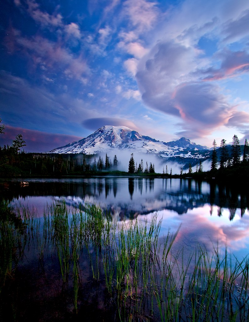 Beautiful Mt Rainier 792x1024 Earthporn