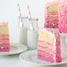 Pink Layer Cake by Glorious Treats