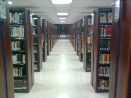 Biblioteca Javeriana, vía flickr por ricohin