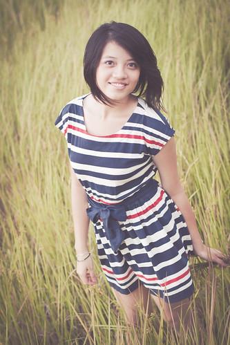 [フリー画像素材] 人物, 女性 - アジア, 人物 - 田園・農場 ID:201208020800