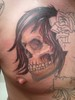 chest piece-skull