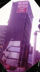 Hotel McAlpin, Tenth between Chestnut and Sansom, east side, Philadelphia, 1992