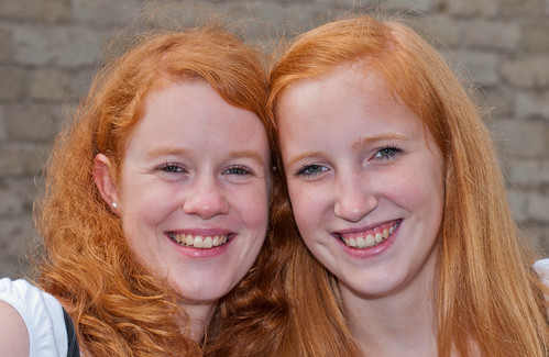 Roodharigendag in Breda - Redhead Day in the Dutch city of Breda