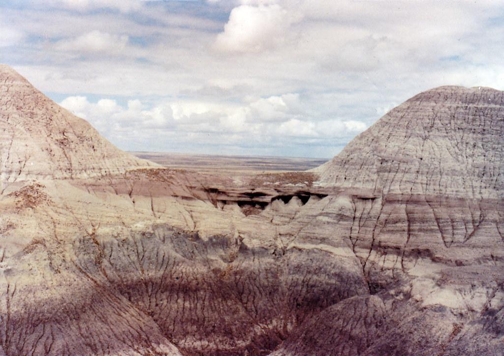 Early 1990s Painted Desert, Arizona