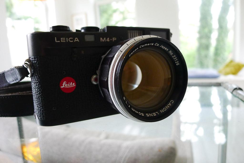 leica-m4p-canon-f1 2 | New toy on the M4-P: Canon LTM 50mm f… | Aad
