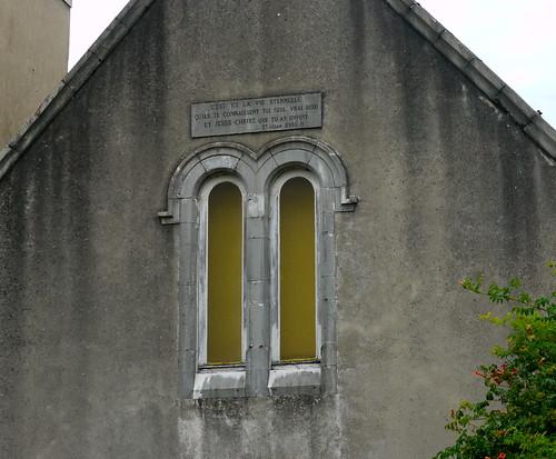 Bellocq, Pyrénées Atlantiques: les jumelles de l'église réformée