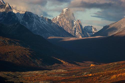 canada yukon tundra ogilviemountains tombstonemountain demspter