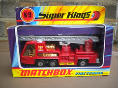 Matchbox Super Kings K9 Fire Tender Denver Fire Dept 1970's