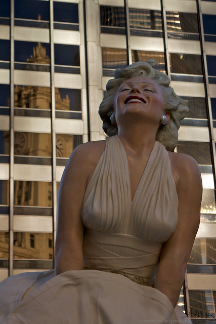 Marilyn  Enjoys the View