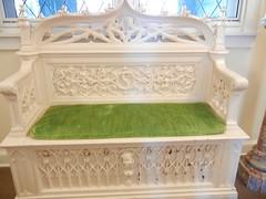 Cottage bench, Yaddo