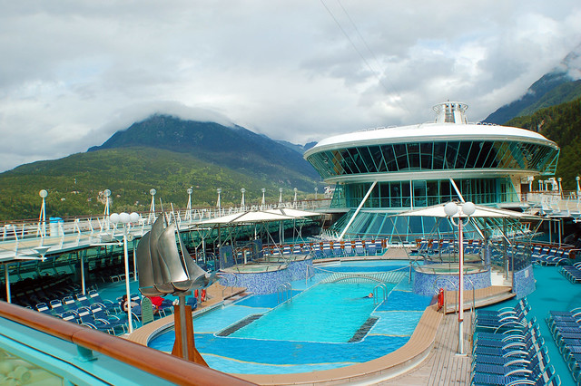Cruise Ship  Pool Deck  Flickr  Photo Sharing