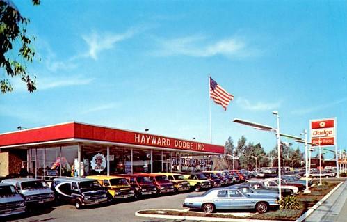 hayward dodge hayward ca 1970s a photo on flickriver. Black Bedroom Furniture Sets. Home Design Ideas