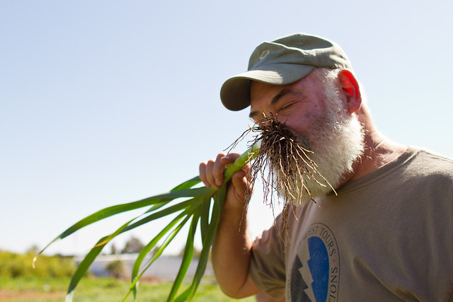 Dr. Weil Visits McClendon's Select Organic Farm