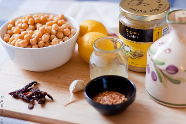 Stuff for Hummus