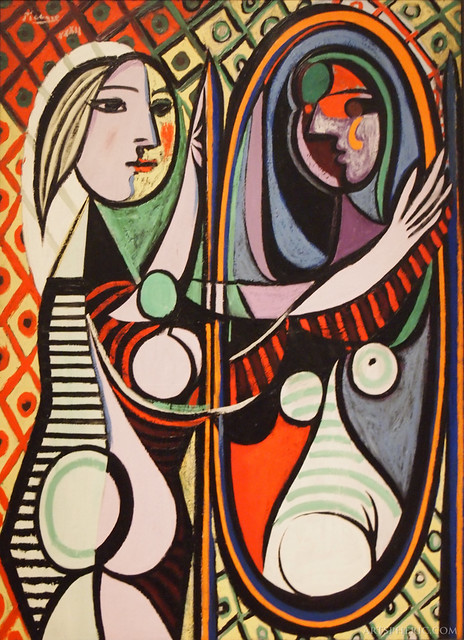 pablo picasso girl before a mirror 1932 flickr photo sharing. Black Bedroom Furniture Sets. Home Design Ideas