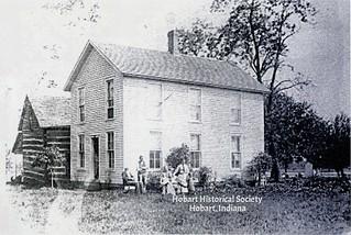 Mundell homestead ca. 1888