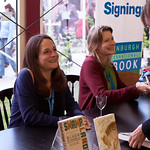 Jennifer Egan and Karen Russell Signing |