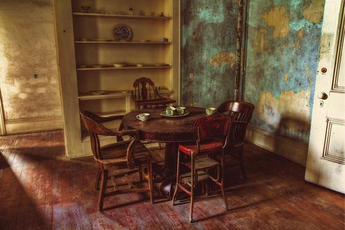 table chair decay highchair dishes asylum hdr westonstatehospital 60d transalleghenylunaticasylum