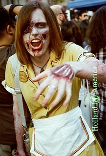 Waitress zombie.