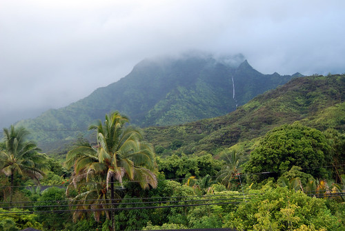 View from our bedroom, Hanalei