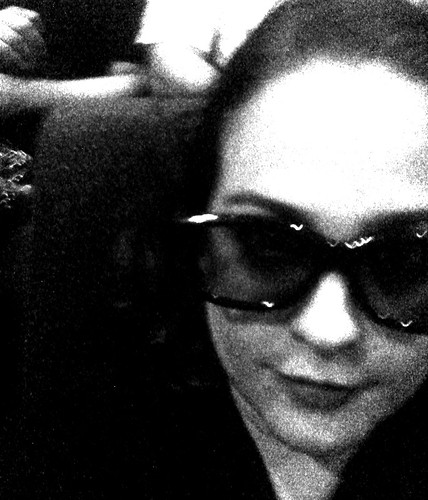 Me and my giant forehead go to my first 3D movie. #frightnight