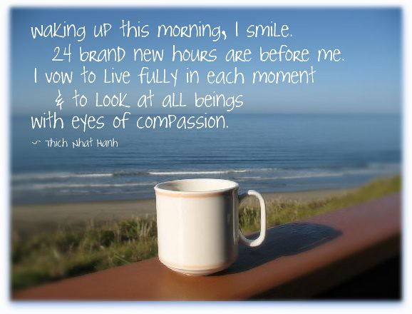 Good Morning Quotes Beach : Beach morning coffee flickr photo sharing