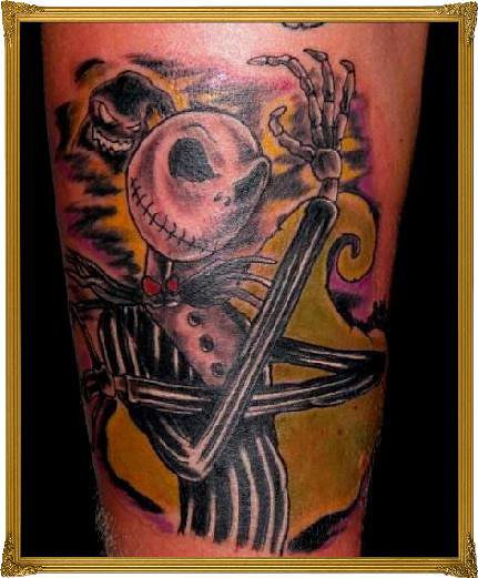 Jack the pumpkin king flickr photo sharing for Jack the pumpkin king tattoo