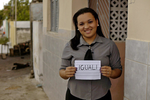 Luisa Maria Oliveira. Student. Brazil. VIdeo Still. © Romel Simon/World Bank RS-BR03