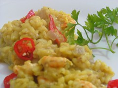 meal, arroz con pollo, produce, risotto, food, dish, cuisine,