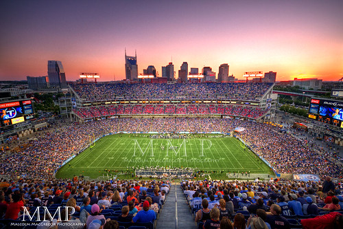 LP Field at Sunset