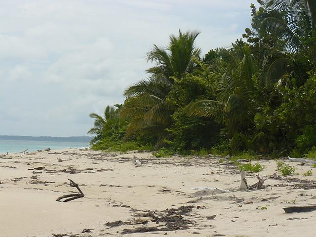 Cayos Zapatillas, las islas de Supervivientes
