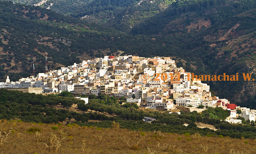 Overview of the Holy City of Moulay Idriss